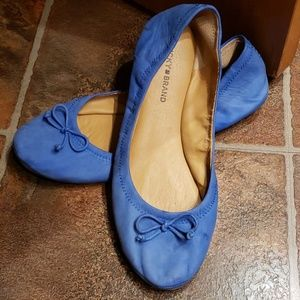 Lucky Brand blue flats shoes